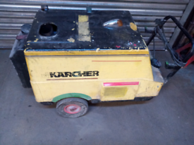 Karcher HDS550 pressure washer hot and cold