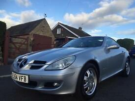 2004 54 MERCEDES-BENZ 1.8 SLK 200 KOMPRESSOR 2DR MANUAL