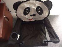 Panda child's chair indoor/outdoor