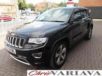 2016 Jeep Grand Cherokee 3.0 CRD Overland 5dr Auto [Start Stop] Diesel black Aut