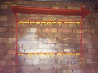 Wall mounted tool tidy