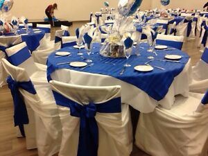 Nice Chair cover-Tablecloth-Backrop &Decor Rental  London Ontario image 6