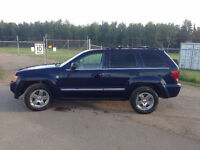 2006 Jeep Grand Cherokee Limited Low KM 14000$ OBO