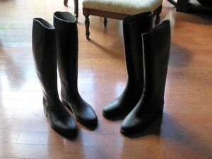 Size 6 riding boots, two pair, $10 each or $15 for the pair