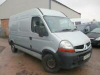RENAULT MASTER 2.5 DIESEL MEDIUM WHELL BASE HIGH ROOF SPARES& REPAIRS