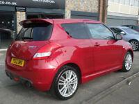 2012 Suzuki Swift 1.6 ( 136ps ) Sport 3DR 12REG Petrol Red