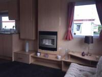 Starter Static Caravan For Sale on Sea Front Park near Towyn North Wales