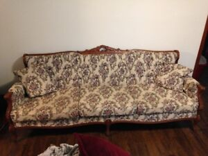 Antique couch & chair set