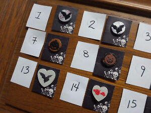 Halloween magnets Choose from 20 Kingston Kingston Area image 1