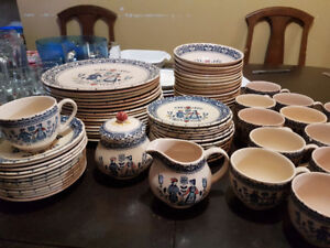 """Johnson Brothers """"Hearts and Flowers"""" Dishes"""