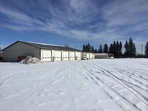 SHOP, LARGE YARD AND OFFICE FOR LEASE