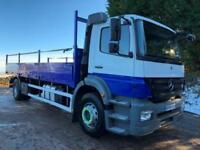 2008 08 Mercedes Axor 1824 Euro5 day cab 22ft9 alloy dropside, 135kms