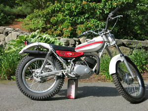 Wanted parts for my 1975 TY175 trials bike project.