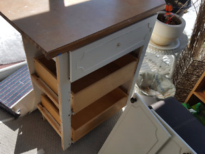 Kitchen cupboards for parts