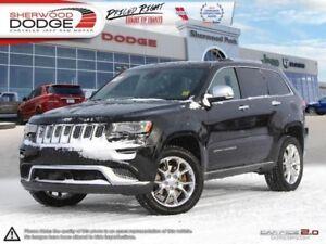 2014 Jeep Grand Cherokee Summit  LEATHER| HEAT/COOL SEATS| REAR
