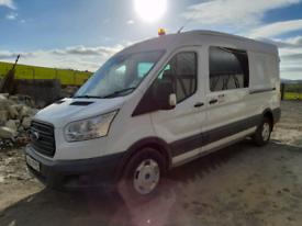 2015 Ford transit Crew Cab
