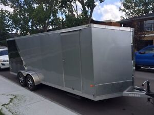 2012 Neo enclosed aluminum trailer
