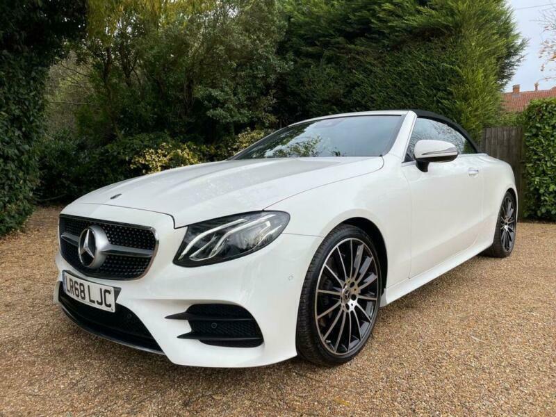 2018 Mercedes-Benz E-CLASS 2.0 E 220 D AMG LINE PREMIUM 2d ...