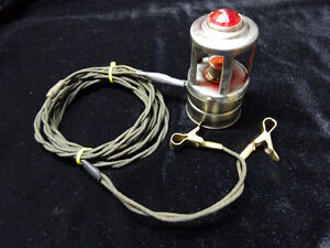 Vintage Emergency 12 Volt Trouble Light