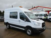 65 reg FORD TRANSIT T350 RWD 125 bhp CREW MESS, MESSING UNIT, WELFARE TOILET VAN