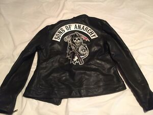 Sons of Anarchy/Harley Davidson Ladies Leather Jacket