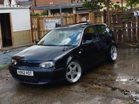 Mk4 golf 1.8t GTI low miles unfinished project fsh