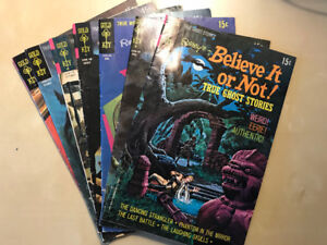 Ripley's Believe it or Not Assorted True Stories issues x7