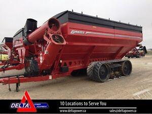 2015 Brent 1196 Grain Cart on Tracks