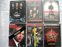 FILMS DVD movies DE NIRO, M. Wahlberg, etc. 5$ ou 5 pour 20$