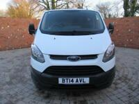 FORD TRANSIT CUSTOM 270 L1 H1 SWB 100 BHP BLUETOOTH 6 SPEED 3 SEATS