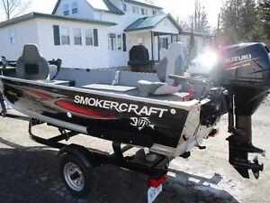 2016/ smokercraft/ total fishing package