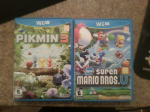 Pikmin 3 & New Super Mario Bros U - Wii.U