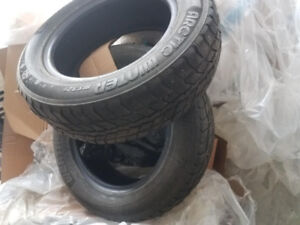 Winter tires. fairly used for sale (only 2 pairs)