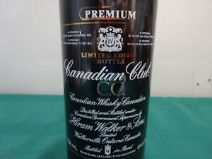 Premium Canadian Club Limited Edition 750ml bottle (empty) Cornwall Ontario image 5