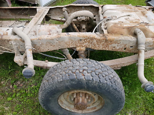 1992 f250 4x4 reg cab rolling chassis
