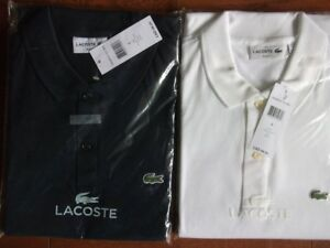 Brand new Lacoste slim fit polo shirts size medium