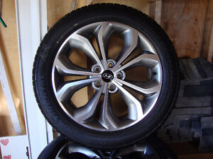 4 Tires and Hyundai Alloy Rims St. John's Newfoundland image 1
