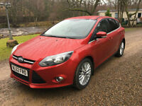 STUNNING FORD FOCUS 1.0 SCTI 100PS ECOBOOST ZETEC GREAT COLOUR
