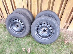 4 Winter Tires on rims ***New Price***