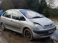 Citroen Xsara Picasso 2.0HDi 2000MY SX. PART EX TO CLEAR