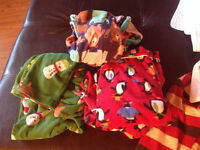 Boys clothing and blankets
