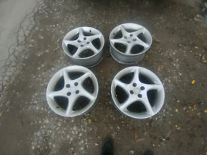 Miata 16 Inch Alloy Rims 4x100 Wheels JDM Roadster