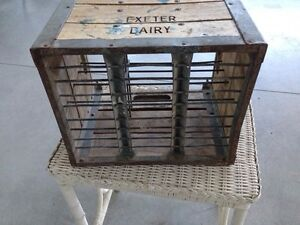 "Vintage Crate ""Exeter Dairy"" London Ontario image 5"