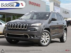 2015 Jeep Cherokee Limited  HEATED/VENTED LEATHER | SUNROOF | PA