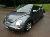 2008 08 Volkswagen Beetle 1.6 Convertible Luna Electric Roof Petrol Manual