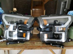 2015-2017 F150 Anzo USA LED Switchback headlights