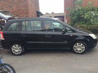 Vauxhall zafira 1.6 life 2008 7 seater