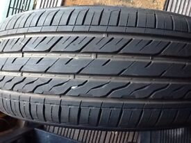 Car tyre 225/50/17 almost new.