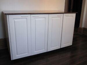 Mobile kitchen Island/Cabinets