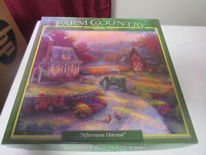 "Farm Country 1000 Piece puzzle ""Afternoon Harvest"""